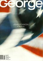 John JFK Kennedy JR George Magazine Special Tribute Issue October 1999 Near Mint