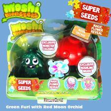 Moshi Monsters Super Graines-Vert Furi Et Lune Rouge Orchid