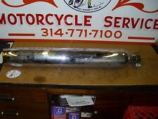 Harley-Davidson,P/N#64900016A, MUFFLER,RH-CHROME,TAKE-OFF PART, EXCELLENT COND,#