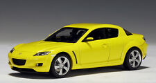 AUTOart - Mazda RX-8 - Lighting Yellow - 1:43 #55921 NEW