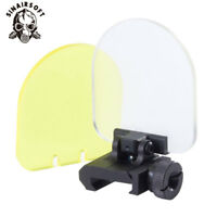 Sight Lens Protector For Airsoft Picatinny 20 mm Rail Mount Scope Red Dot Sight