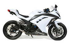 BROCK'S PERFORMANCE SLIP-ON ELECTRO BLACK NINJA 300  WAS $449