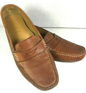 Cole Haan Brown Leather Loafers Driving Shoes Mens US 9.5 B Narrow