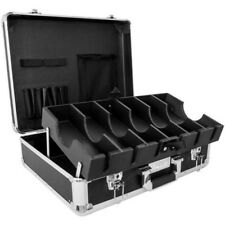 Black Large Barber Travel Clipper Trimmer Case For Andis, Wahl, Oster By Vincent
