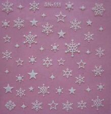 Decorazioni glitter bianco con glitter per unghie