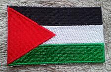 PALESTINE FLAG PATCH Embroidered Badge Iron Sew 4.5cm x 6cm فلسطين Palestinian