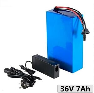 Lithium Ion Li-ion Battery 36V 7AH Rechargeable Electric E Bike Bicycle Scooter