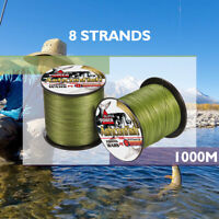 Japanese Super Strong PE Braided Fishing Line 1000M Multifilament 8 strands Line