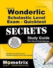 Secrets of the Wonderlic Scholastic Level Exam - Quicktest