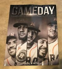 2018 Houston Astros Yearbook World Champions NEW shipped in a box