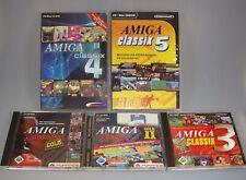 Amiga Classix 1 2 3 4 5 Collection Complète Tous les cinq Classic