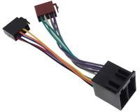 1:1 Vehicle Iso Extension Radio Plug Cable Auto Adapter Car Auto Car Car Radio