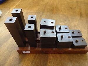 Tenga BCA MK11 MK111 jig borer bolting down clamping block set