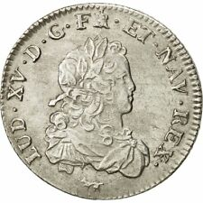 [#481484] France, Louis XV, 1/3 Écu de France, 1720, Paris, SUP, Argent