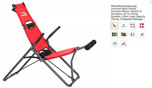 Mediashop Backlounge Inversion Chair Table Back Stretcher BNIB