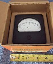 VINTAGE NOS SIMPSON ELECTRICAL METER 0-8 V DC