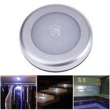 LED Nachtlicht mit Bewegungsmelder Sensor Nachtleuchte Lampe Batterie Spot Wand