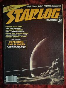 STARLOG May 1978 #13 DAVID PROWSE Darth Vader STAR WARS LOGAN's RUN GEORGE PAL