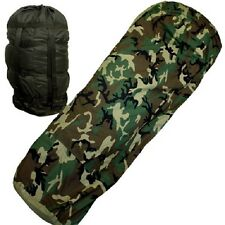 Us Army Mss Modular Sleeping Bag System Sleeping Bag Woodland Camouflage