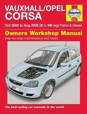 Vauxhall Corsa Repair Manual Haynes Workshop Service Manual  2000-2006  5577