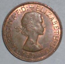Elizabeth II 1967 moneda de medio centavo.