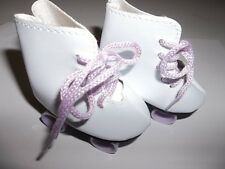 """Lavender Roller Skates Shoes made for 18"""" American Girl Doll Clothes New"""