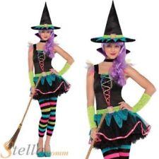 Déguisements costumes multicolores sorciers pour fille