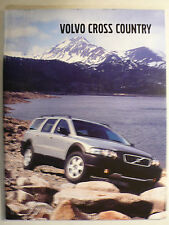 Prospekt Volvo  V70 Cross Country, 2002, 66 Seiten