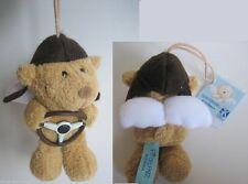 PITZELPATZ Autofahrer Schutzengel Bär Schutzengelbär Teddy mit Lenkrad 10 cm