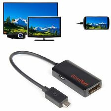 SlimPort MyDP to HDMI 1.4 HDTV Cable Adapter for LG V10 G2 G3 G pro Nexus 4 5 7