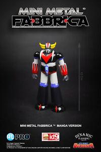 High Dream HL Pro Grendizer Fabbrica Mini Metal diecast figure Manga Ed