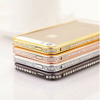 Sparkling Diamond Glittery Bling Case Cover For iPhone 5 s 6 Plus SE