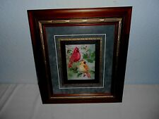 """The Cardinal Birds  """"Male & Female"""" Print Signed & Numbered T.PENNINGTON"""