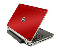 RED Vinyl Lid Skin Cover Decal fits Dell Latitude E6420 Laptop