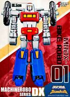 ACTION TOYS MACHINE ROBO DX MRDX-01 BIKE MODE GOBOTS NUOVO NEW