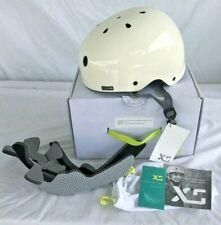 """NEW L/XL Helmet Women's """"XS"""" Brand Freeride All-Season Helmet Skate Bike White"""