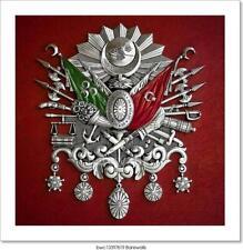 Ottoman Empire Coat Of Arms Art Print Home Decor Wall Art Poster - J