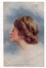 NOW ON SALE * 1907 TAMMEN DENVER POST LADY NATIONAL  WINNER POSTCARD PC4664