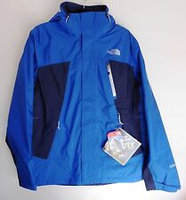The North Face Men's MOUNTAIN LIGHT Gore-Tex Shell Hiking Jacket Monster Blue M