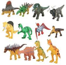 12 pcs Mini Cute Dinosaur Figures Jurassic Dino Toy Dinosaur T-Rex Model