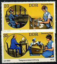 East Germany 1979 SG#E2110-1 Telephone & Telegraph Communications MNH Set#D55594