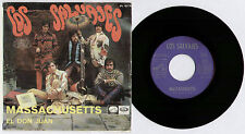"[BEE GEES] LOS SALVAJES ~ MASSACHUSETTS / EL DON JUAN ~ 1967 SPANISH 7"" + P/S"