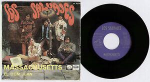 "[BEE GEES] LOS SALVAJES~MASSACHUSETTS / EL DON JUAN~1967 SPANISH VINYL 7"" SINGLE"