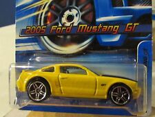 Hot Wheels 2005 Ford Mustang GT #184 Yellow