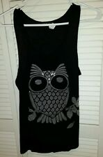 GRASS COLLECTION OWL TANK TOP SIZE LARGE