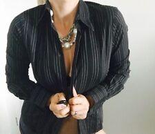 Zara Long Sleeve Regular Striped Tops & Blouses for Women