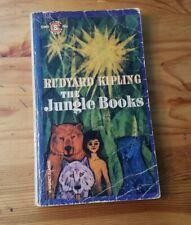The Jungle Books by Rudyard Kipling Vintage Signet Paperback 1961 4th Printing