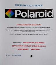 POLAROID  SHDV2211 SHDV2211-L1-D0 SIS288/ 289  SSDV3241-ZC01-01 FIRMWARE READ AD