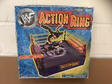 VINTAGE/RETRO JAKKS PACIFIC WWF ACTION RING 2001 WRESTLING - NEW DAMAGED BOX