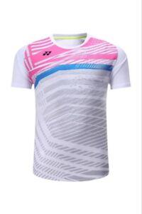 New Men's Tops Sportswear Clothing badminton table tennis T-shirt